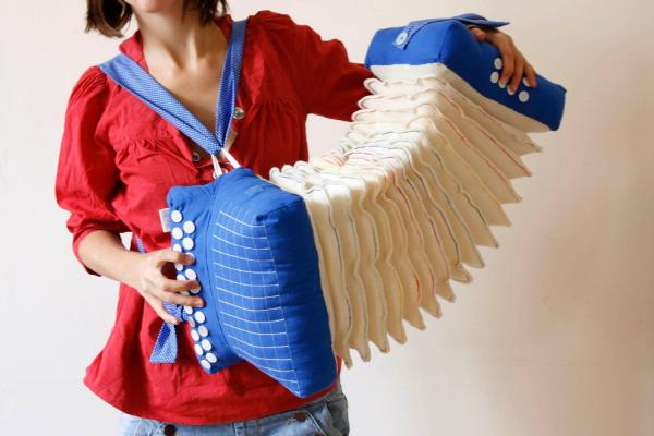 Plush accordion, what could be cooler?