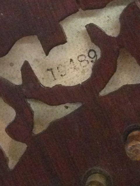 Serial Number 19489
