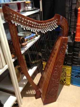 Salvation Army Harp
