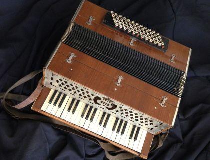 Antique Piano Accordion - 068b
