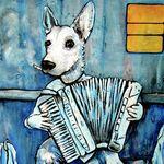 art - dog acc print