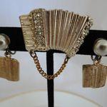jewel - brooch and earrings