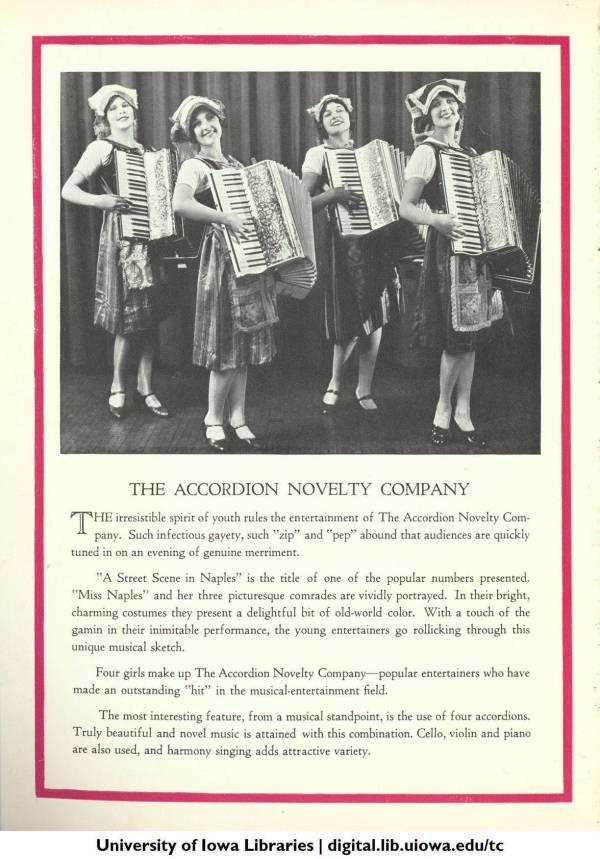Accordion Novelty Company, pg 3