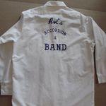 art's accordion band shirt