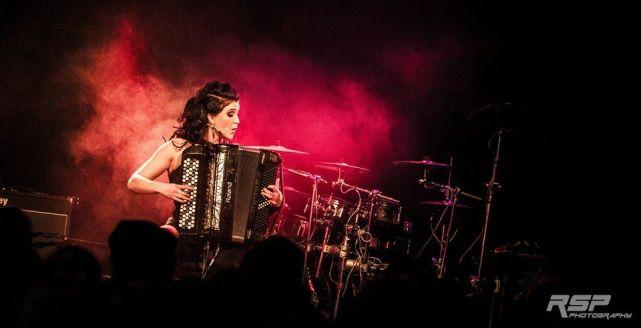 Netta Skog with Ensiferum