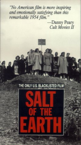 "Salt of the Earth Movie Poster ""The Only US Blacklisted Film"""
