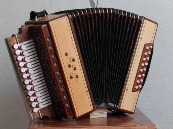 My Fifth Garmon (diatonic accordion)