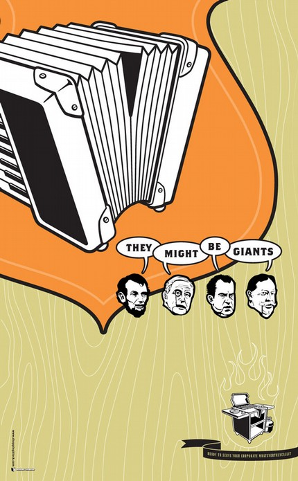 They Might Be Giants, presidents accordion?