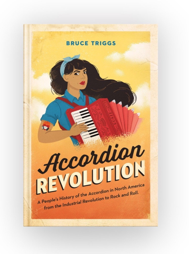 Accordion Revolution ebook cover, link to Smashwords ebook site.