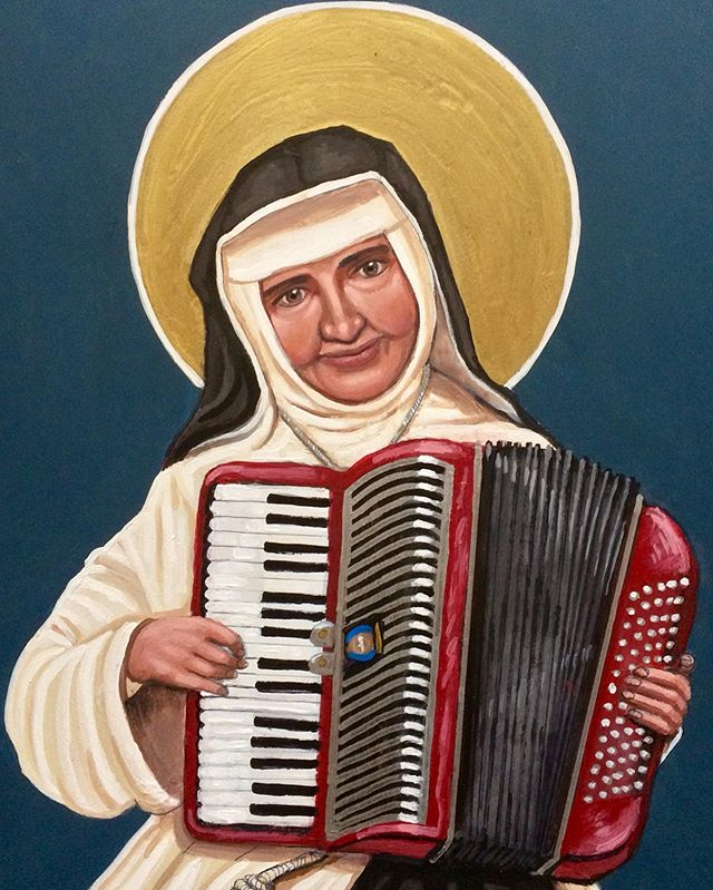Saint Dulce of the Poor, forró accordionist_
