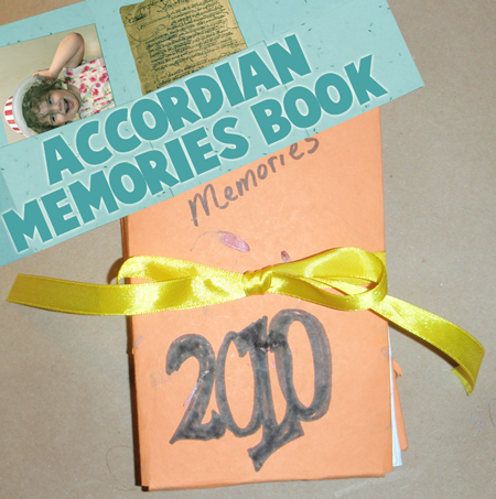 accordian-memories-book